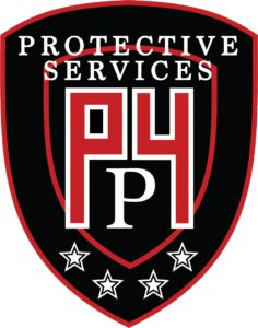 p4 security solutions logo grayscale